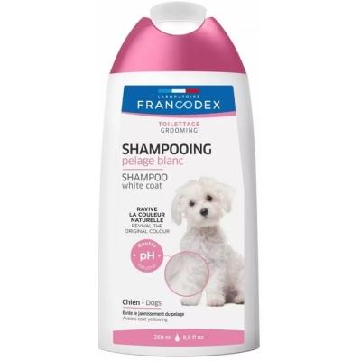 Francodex Šampon bílá srst