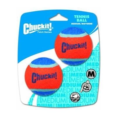 Chuckit Míčky tenisové Medium 6,5cm - 2ks na kartě