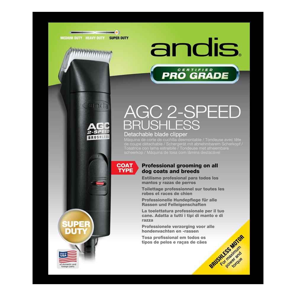 Stříhací strojek na psy Andis AGC 2-speed