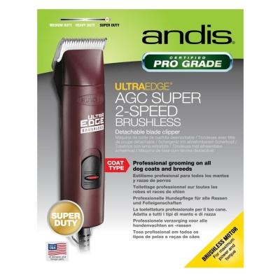 Andis AGC Super 2-speed Stříhací strojek na psy vínový