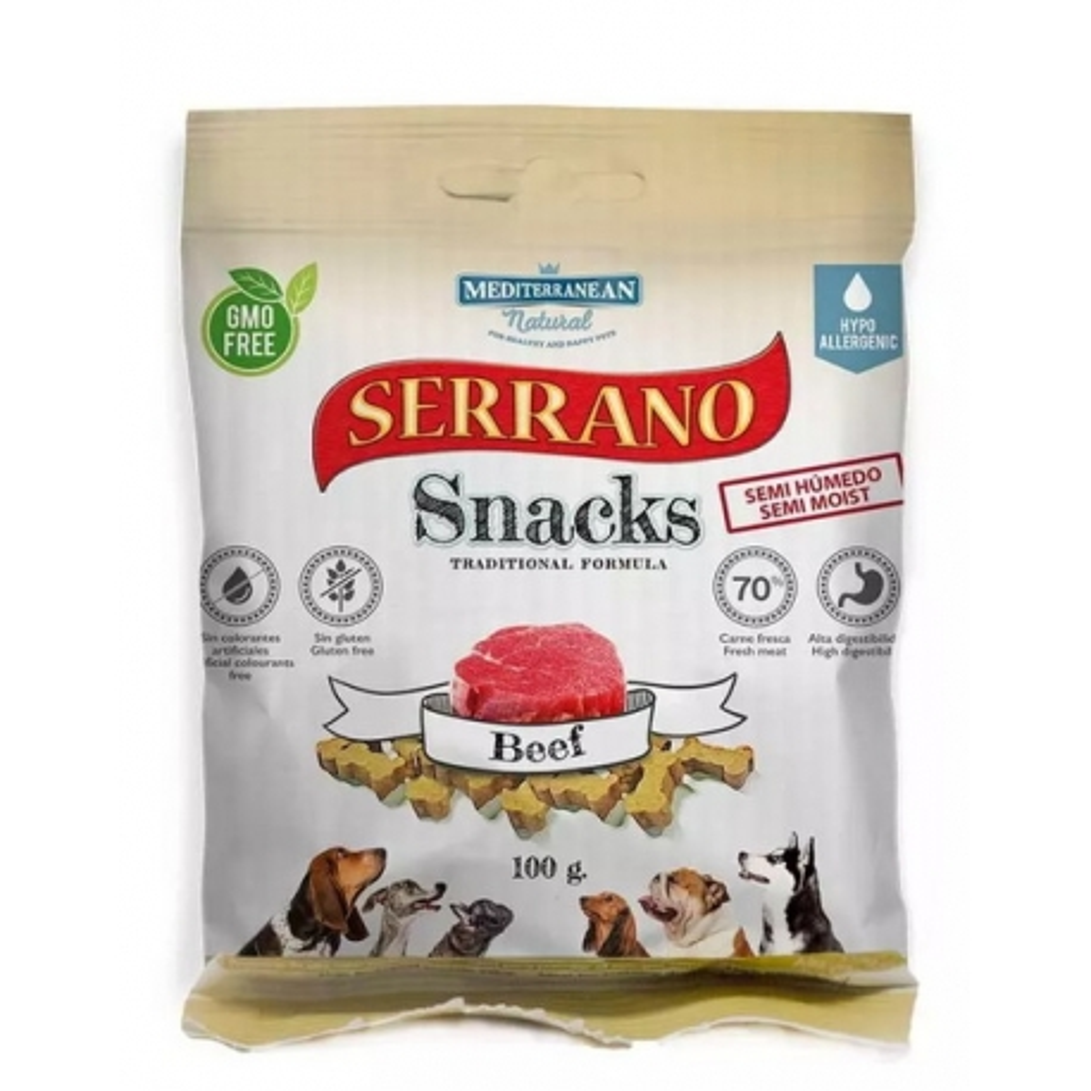 Serrano Snack for Dog-Serrano Ham 100g
