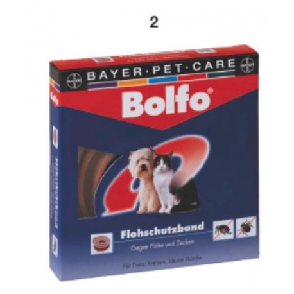 Bolfo antiparazitní obojek - malý pes a kočka
