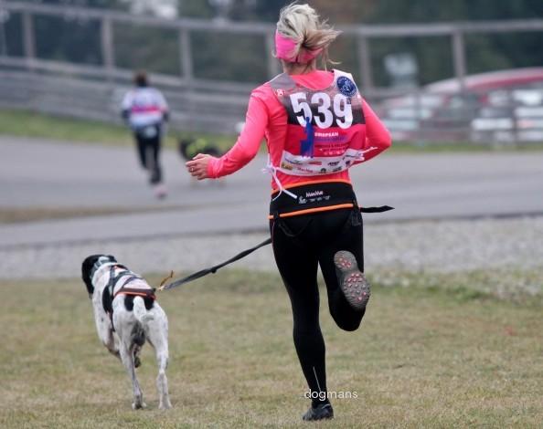 ManMat Pás Opasek na běh se psem