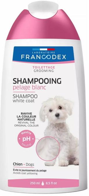 šampon na bílé psy Francodex