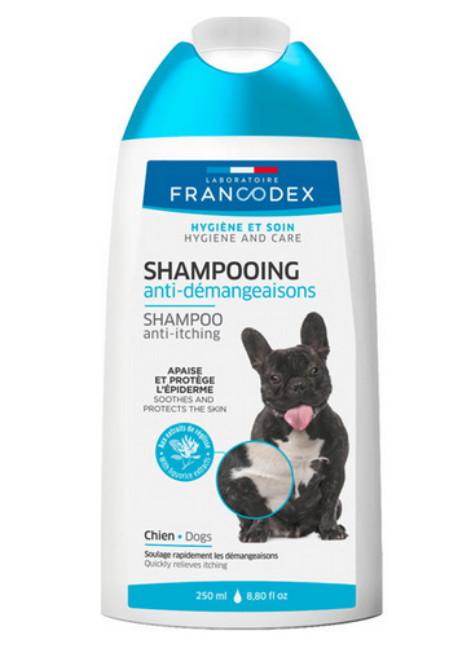 šampon proti svědění srsti