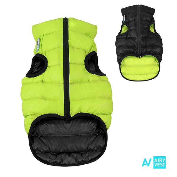 Airy vest zelená/černá