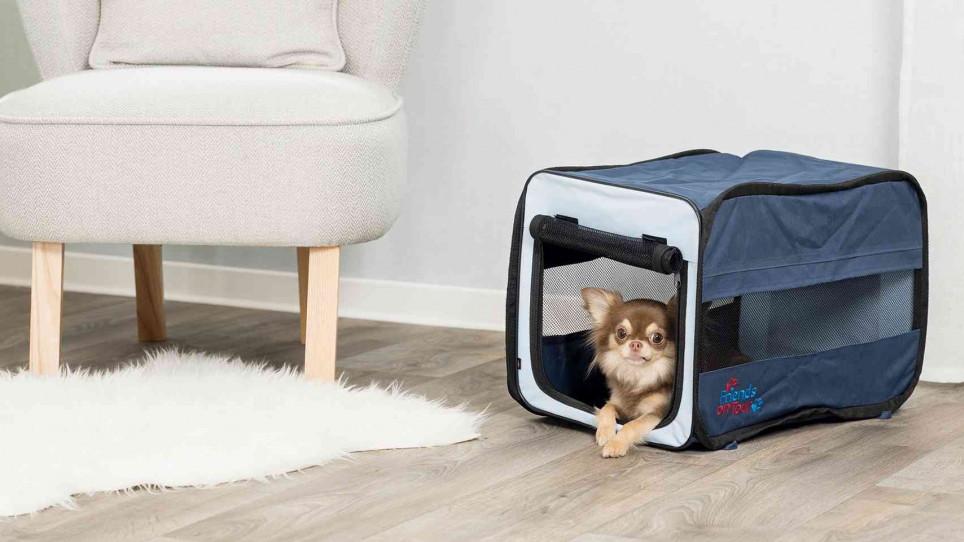 boudička T-Camp Twister pro psa do bytu