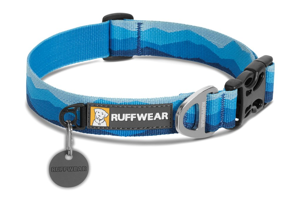 Obojek Ruffwear blue mountain