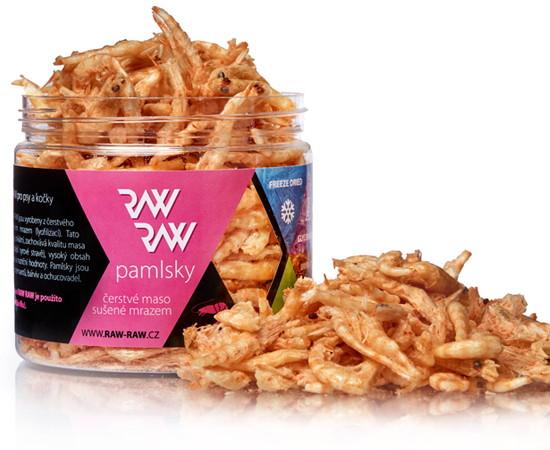 pamlsek Raw sušené krevety